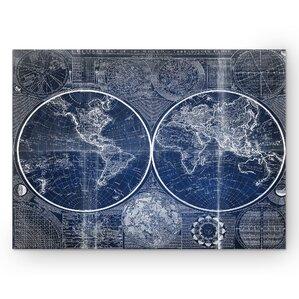 World Map Wall Art top picks: map wall art you'll love | wayfair