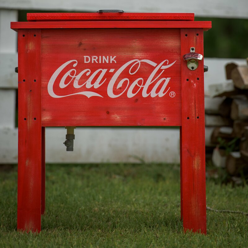 54 Qt. Coca Cola Country Patio Cooler