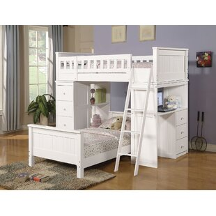 6a58f95fcc6ae White Bunk Beds You ll Love