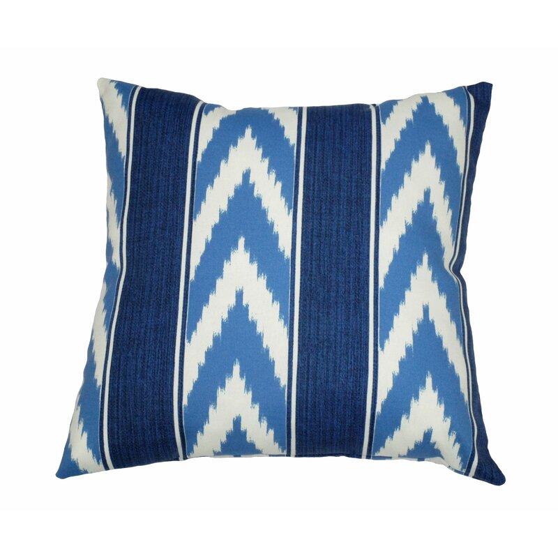 Ikat Stripe Outdoor Throw Pillow Joss Main