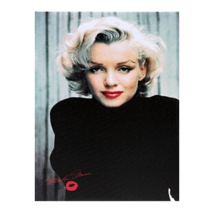 Marilyn Monroe Canvas Art Wayfair