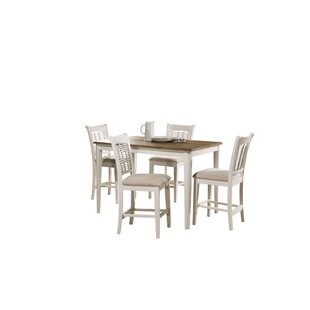 Hartling Bayberry 5 Piece Counter Height Dining Set