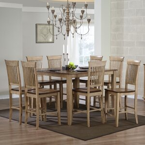 Huerfano Valley 9 Piece Pub Table Set by Loon Peak