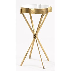 Quatrefoil Tray Table by I..
