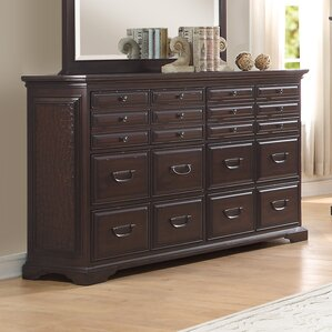 Plumcreek 6 Drawer Standard Dresser by Darby Home Co