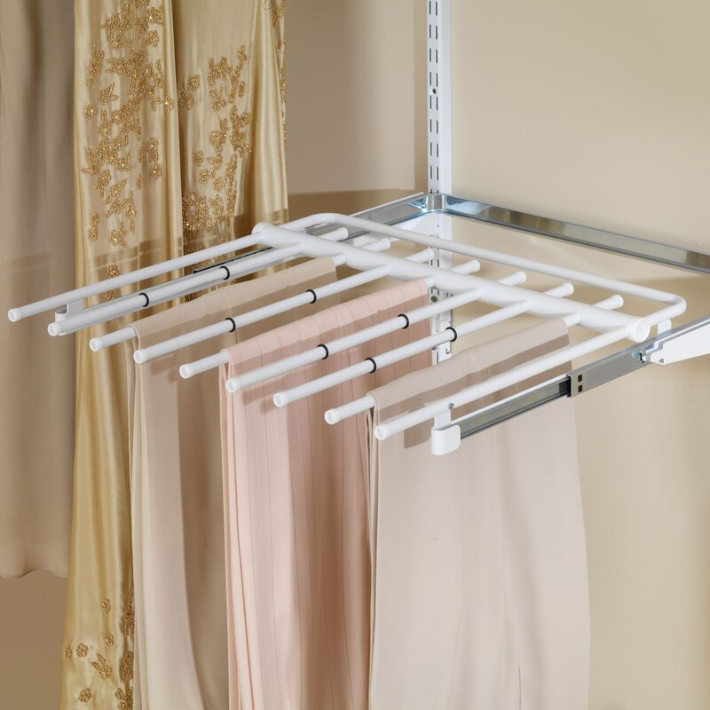 Configurations Closet Sliding Pants Rack