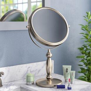 Gammon Vanity 15x 1x Magnification Swivel Mirror