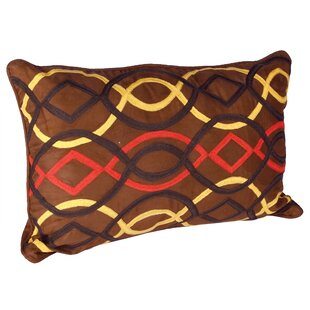 Genial African Embroidery Cotton Lumbar Pillow (Set Of 2). By Karma Living