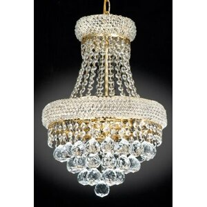 3-Light Empire Chandelier