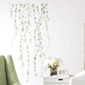 Bilyeu 10 Piece Hanging Vine Wall Decal Set