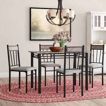 Exceptionnel Wrought Studio Bryson 5 Piece Dining Set U0026 Reviews | Wayfair