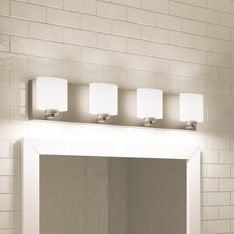 pretty nice 9f7df ec1a7 Jusino 4-Light LED Vanity Light