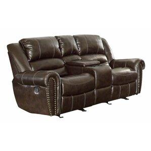 Medici Leather Reclining Sofa