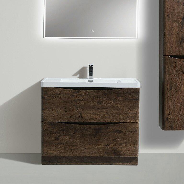 Wrought Studio Ruelas Free Standing Modern 39