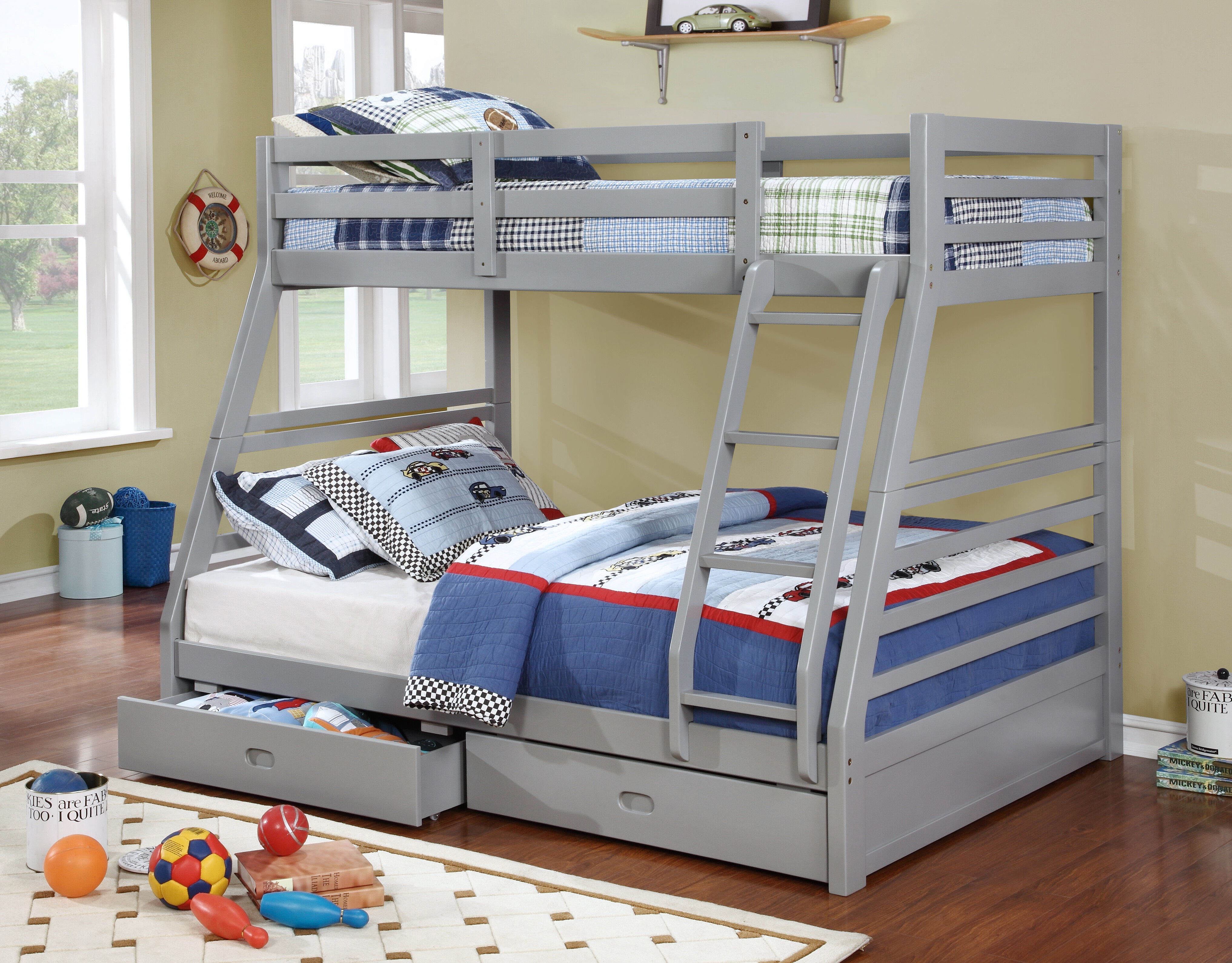 bed highlands cfm harper twin bunk kids master over espresso hayneedle full beds product ne