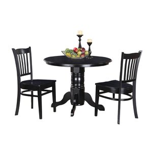 Aspinwall 3 Piece Dining Set by Alcott Hill