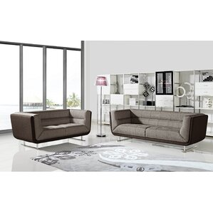 Sarah 2 Piece Living Room Set by Container
