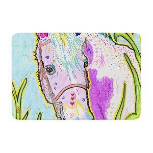 Rebecca Fischer Nemo Horse Memory Foam Bath Rug