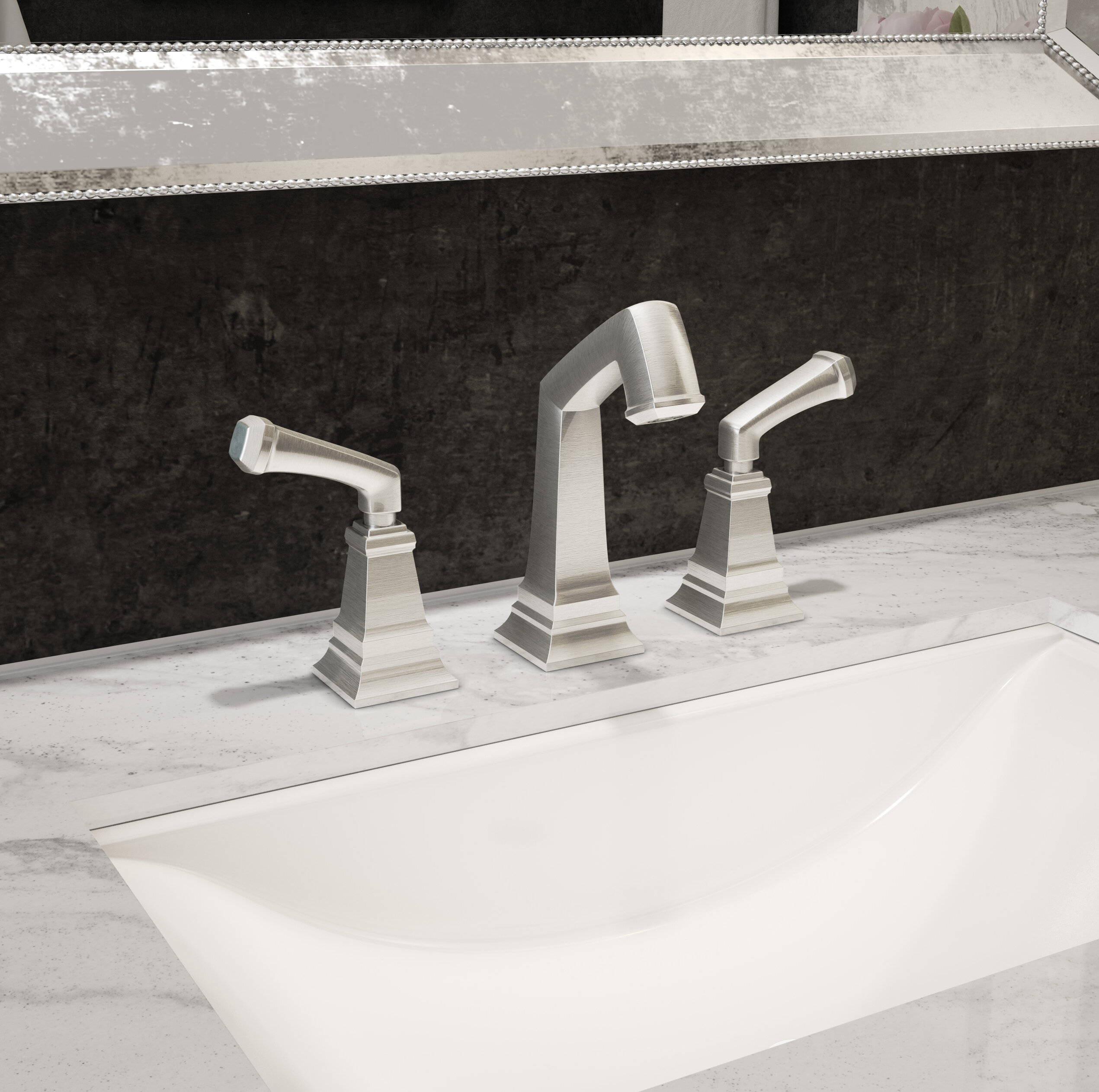 Symmons Oxford Centerset Bathroom Faucet with Drain Assembly | Wayfair