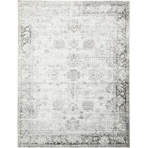 brandt machine woven graywhite area rug