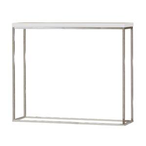 Mariotti Studio Console Table. White Lacquer