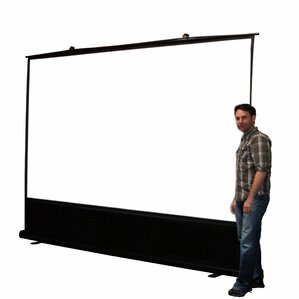 "ezCinema White 60"" diagonal Portable Projection Screen"