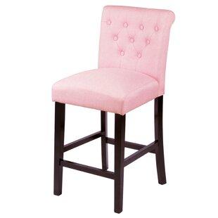 low priced 48f18 e7e53 Farmhouse & Rustic Pink Bar Stools | Birch Lane