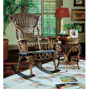 Millie Brownwash Rocking Chair by Yesteryear Wicker