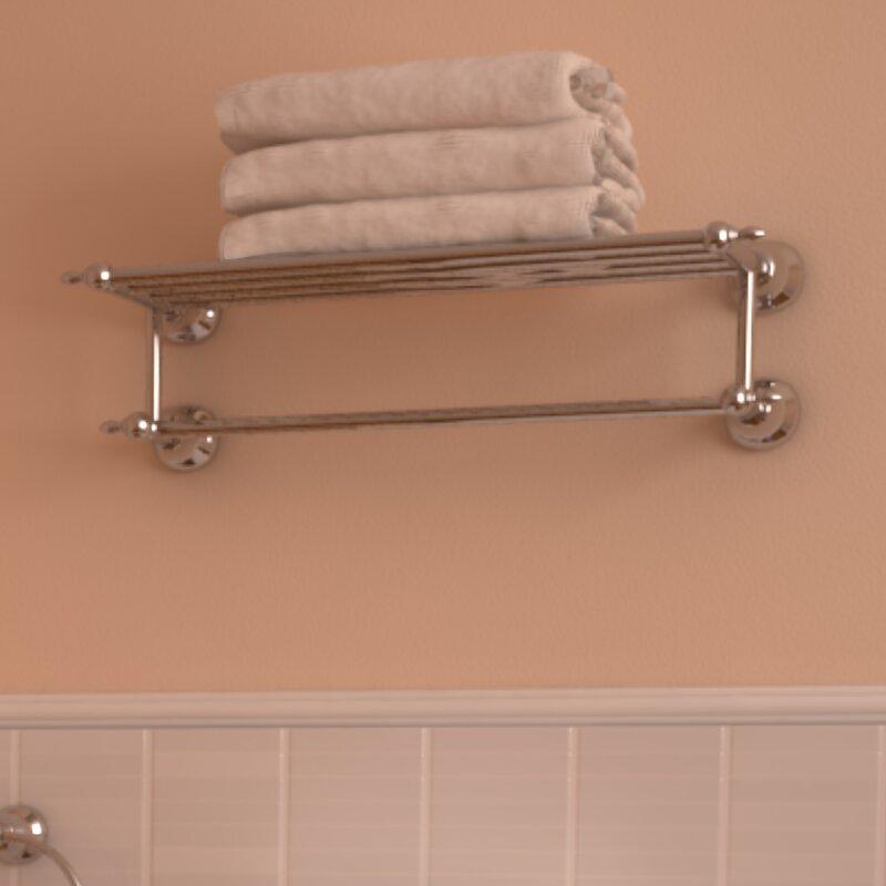 Ancona Premium 2 Tier Wall Shelf & Reviews   Wayfair