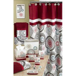Calen Shower CurtainShower Curtains You ll Love   Wayfair. Maroon Shower Curtain Set. Home Design Ideas