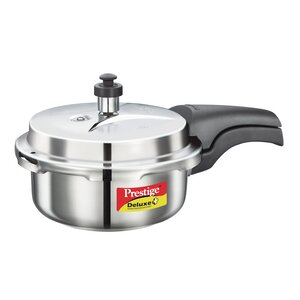 Deluxe 2.11-Quart Stainless Steel Pressure Cooker