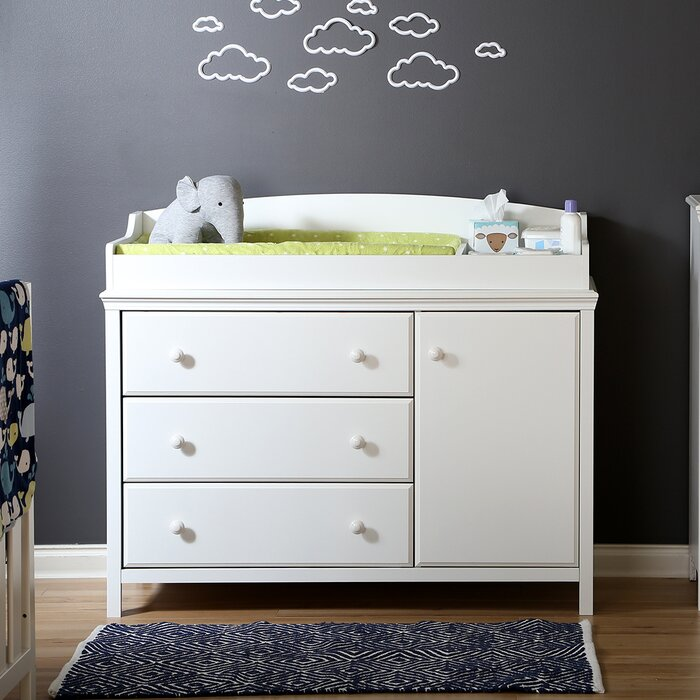 Cotton Candy Changing Dresser