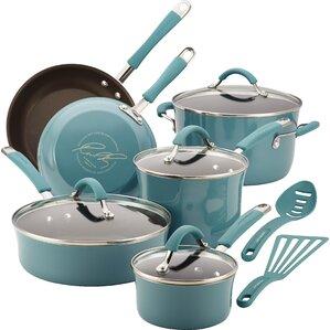 Rachael Ray 12-Piece Cookware Set