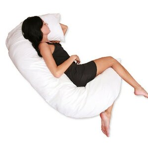 C - Full Cotton Body Pillow by Deluxe Comfort