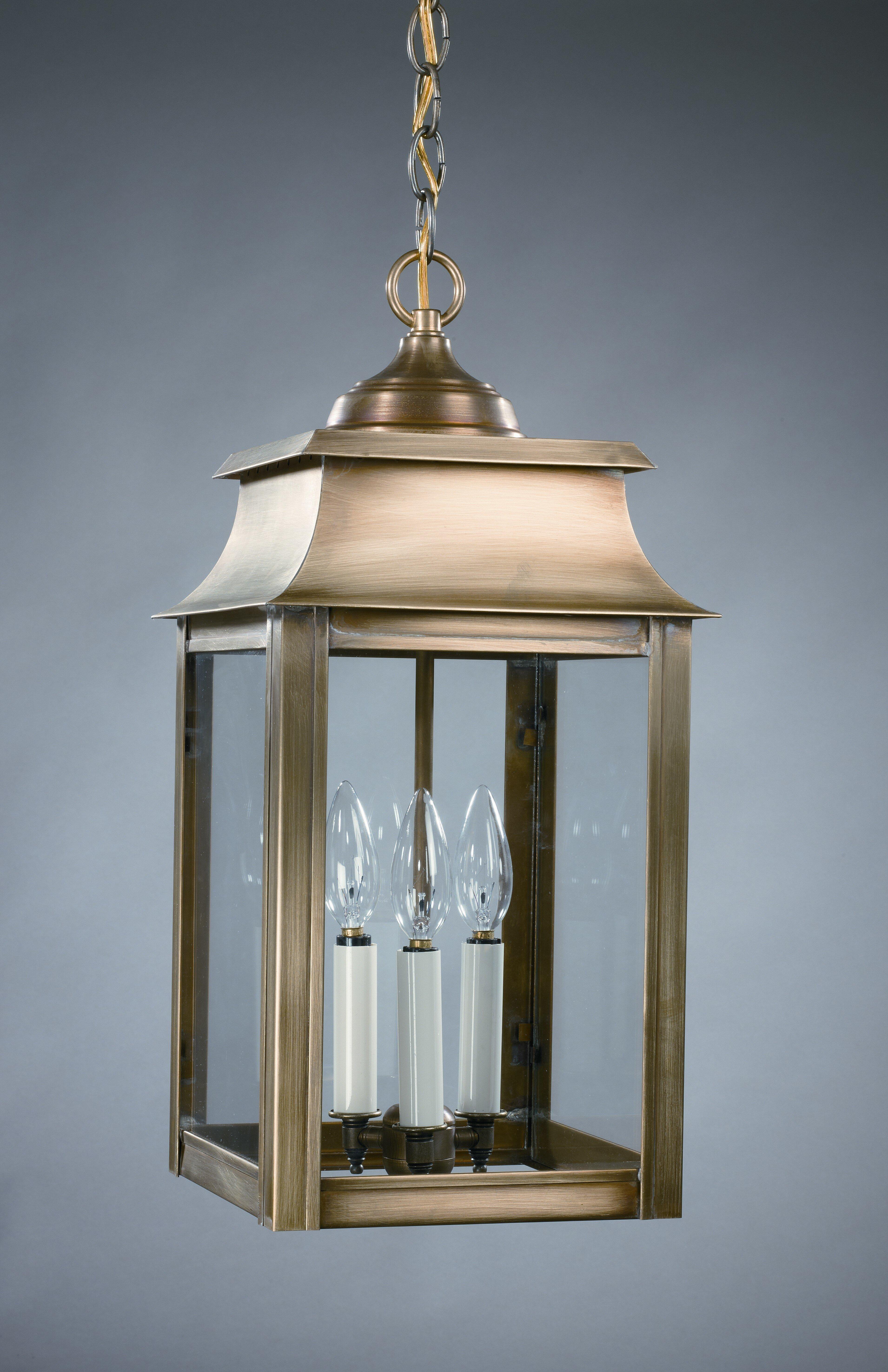 Northeast Lantern Concord 3-Light Outdoor Hanging Lantern | Wayfair.ca