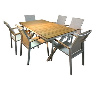 Modern Outdoor Dining Sets | AllModern on kitchen cabinets outdoor, kitchen wood outdoor, grill tops outdoor,
