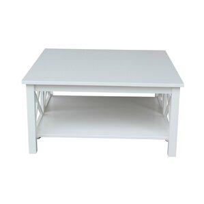 Nice Walden Coffee Table. Unfinished White