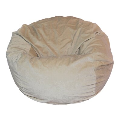 Ahh! Products Bean Bag Chair Upholstery: Light Tan