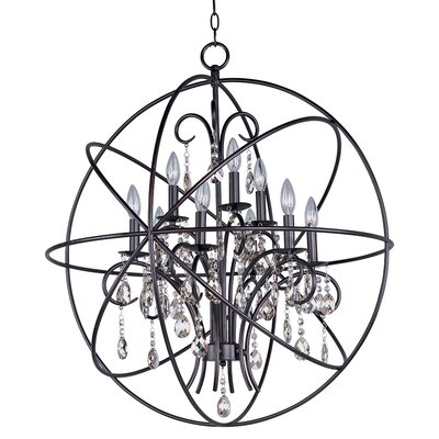 Willa Arlo Interiors Joaquin 9 Light Candle Style Chandelier