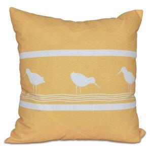 Hancock Birdwalk Animal Print Throw Pillow