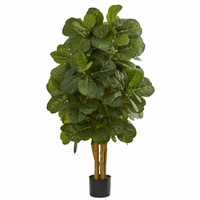 Faux Fiddle Leaf Fig Tree In Pot Amp Reviews Joss Amp Main