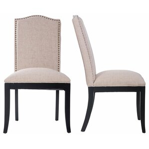 Solid Wood Dining Chair (Set of 2) by Merax