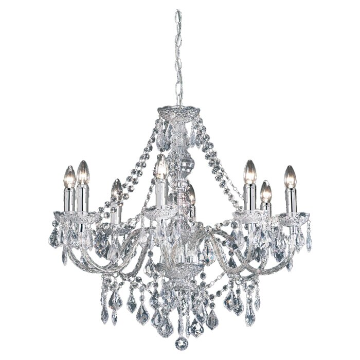 Classy candle style chandelier