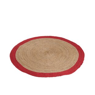Hunt Red/Natural Rug by World Menagerie
