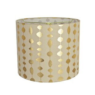 Transitional Spider 12 Fabric Drum Lamp Shade