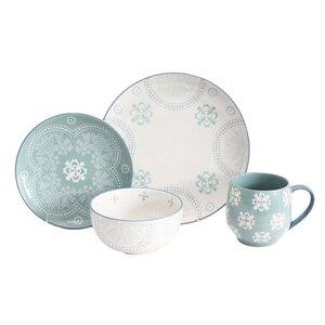 Phara 16 Piece Dinnerware Set, Service for 4