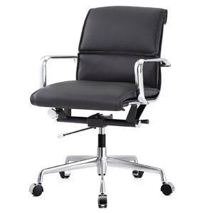 office leather chair. Vegan Leather Office Chair