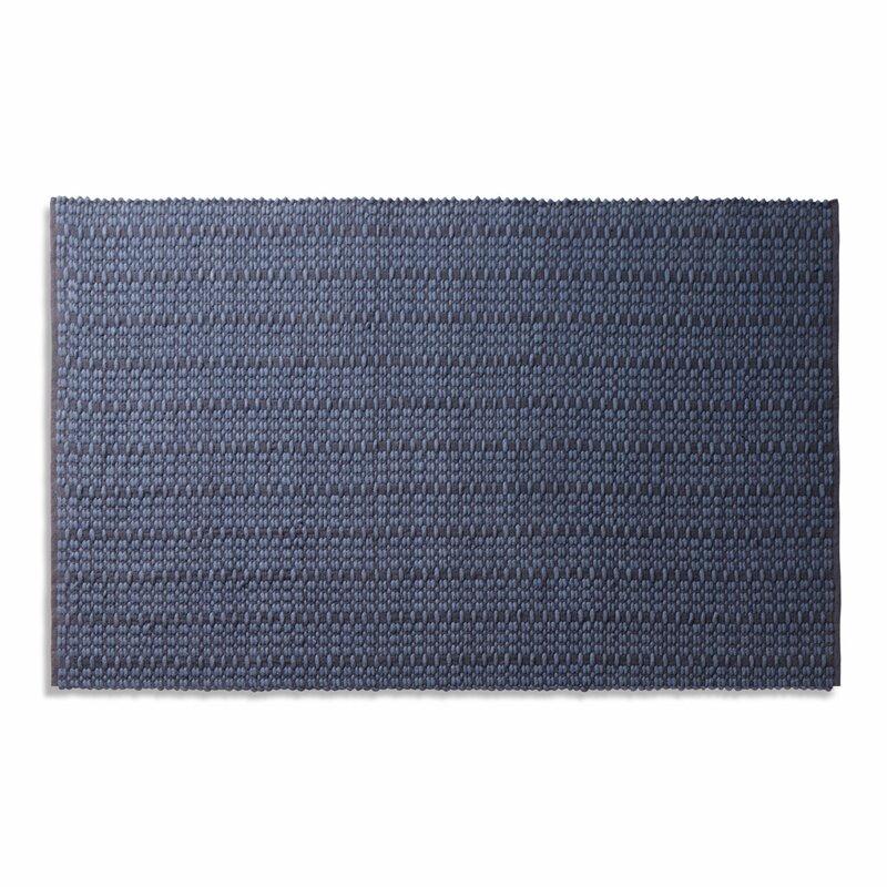 Weft Dark Blue Area Rug