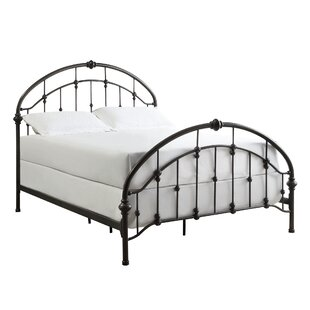Antique Furniture Edwardian (1901-1910) Antique French Industrial Shabby Chic Cast Iron & Brass Single Bed Frame 1 Of 2
