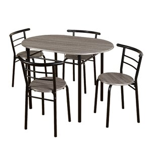 Ryanne Bistro 5 Piece Dining Set by Winston Porter